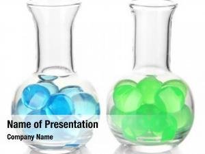 White flasks hydrogel