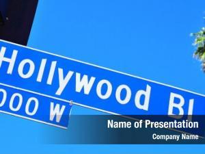 Boulevard closeup hollywood sign hollywood,