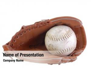 Glove baseball baseball white