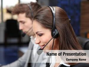 Operators call center work