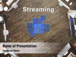 Computer streaming internet media transfer