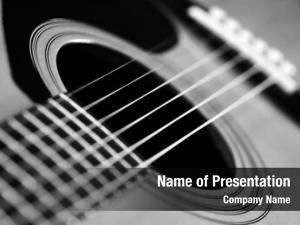 Guitar closeup detail strings playing