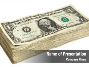 Dollar stack one bills