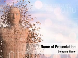 White digital composite binary code