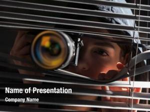 Photographers closeup paparazzi car window