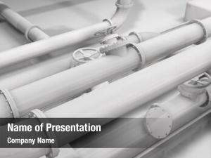 Glossy photo realistic white pipes