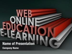 Distance online education learning