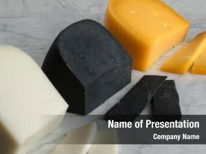 White pieces dutch goat cheese,