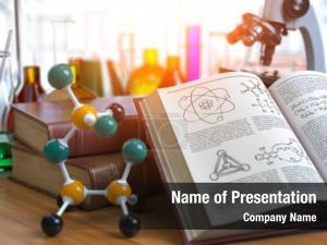 Microscope laboratory equipment flasks, vials