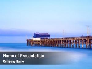 Newport balboa pier beach, california