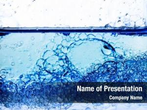 Bubbles transparent gel close up