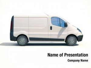 Illustrates postal van express fast