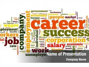Words career related concept word