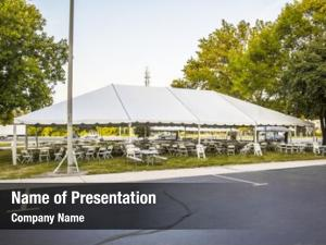 Wedding white banquet tent party