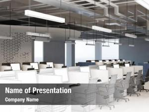 Office planning callcenter cad wireframe