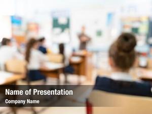 Classroom blur kids usage