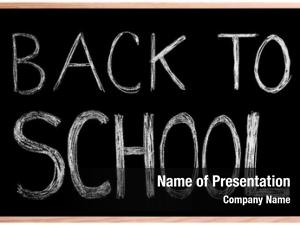 Blackboard/ back school! chalkboard back