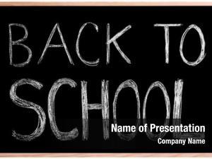 Blackboard/ back school! chalkboard back