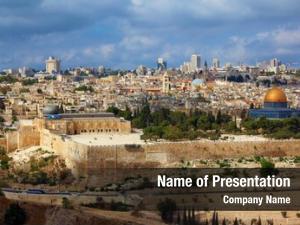 Jerusalem holy city