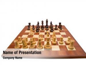 Full chess board set chess