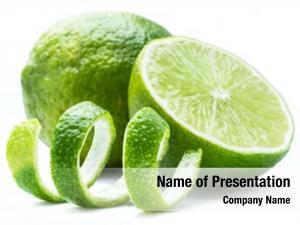 Fruits ripe lime lime peel