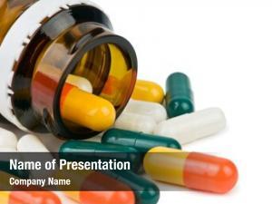 Bottle color pills