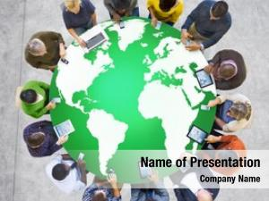 Environment green business global conservation