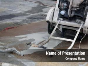 Water cement cutting clean