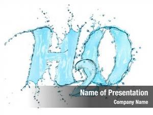 Water h2o splash formula white