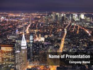 City new york manhattan aerial