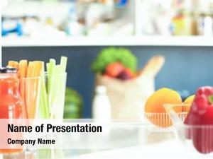 Full open fridge fresh fruits