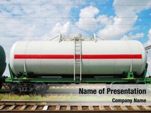 Cars railroad tank oil