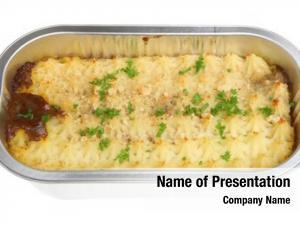 Convenience shepherds pie meal foil
