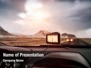 Car, gps navigator modern device