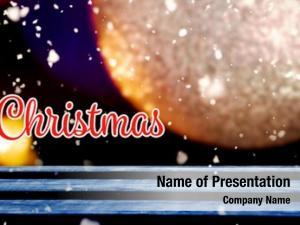 Against christmas card ornament christmas