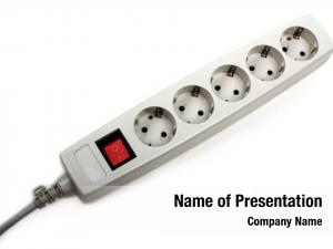 Supply electric power outlet plug