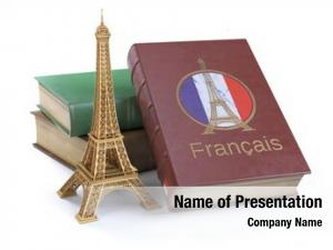 French learn studying concept