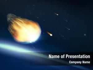 Deep glowing asteroid space
