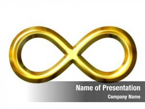 Symbol golden infinity