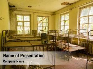 City abandoned school pripyat ukraine