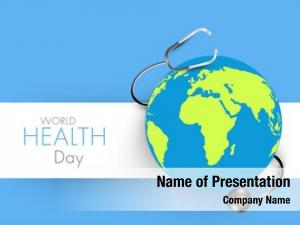 Heath abstract world day concept