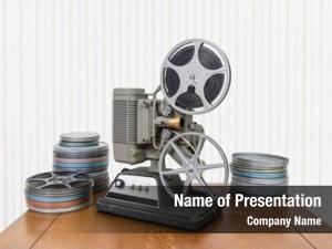 Home vintage 8mm movie projector