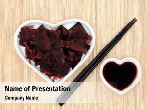 Health dulse seaweed food heart