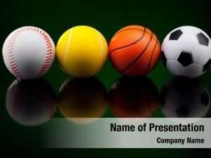 Sport backgrounds assortment balls