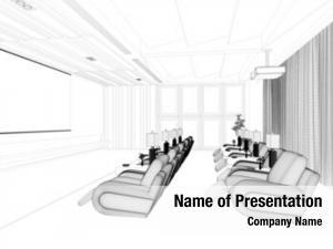 Modern cad planning luxury home