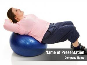 Model beautiful plus sized doing pilates