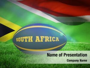Rugby south africa ball against