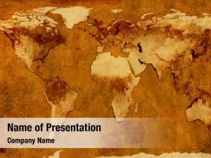 World ancient map