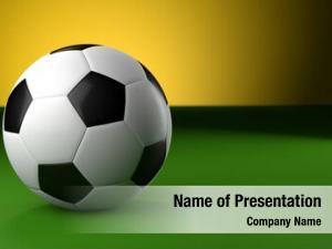 Green soccer ball yellow brazil