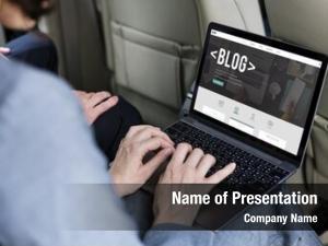 Blog web design global website